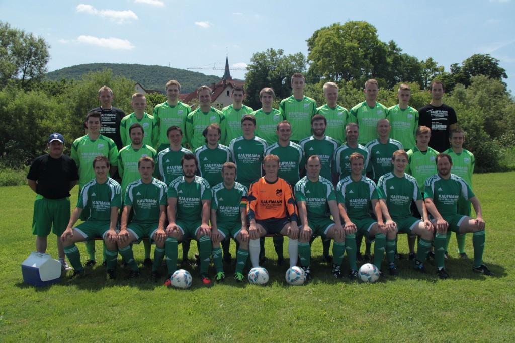 2013-07-14 SV Ramsthal - Mannschaftsbild (3)