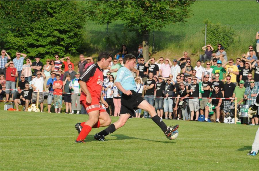 Relegation: Spielabbruch in Reiterswiesen nach Unwetter